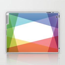 Fig. 001 Rainbow color Laptop & iPad Skin