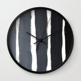 Value Scale Strokes Wall Clock