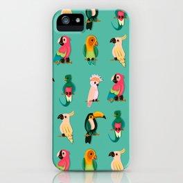Tropical Tweet iPhone Case