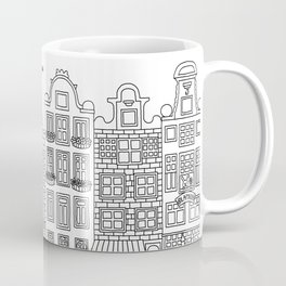 Amsterdam Line Art Coffee Mug
