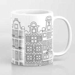Amsterdam Line Art Coffee Mug