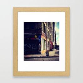 New York City Photograph Framed Art Print