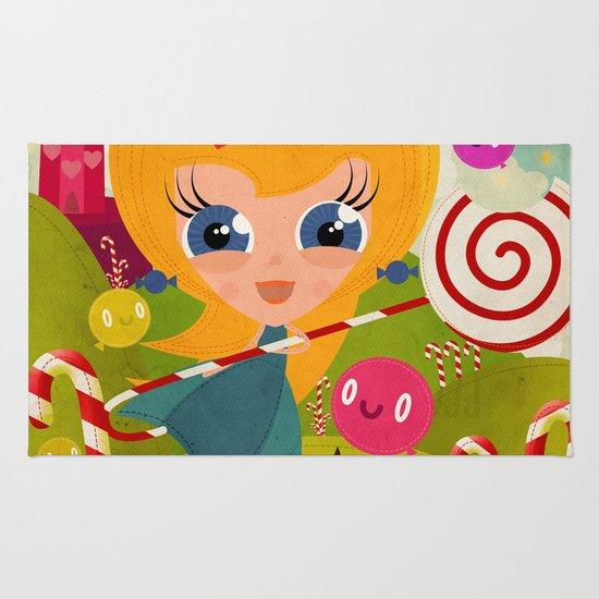 Caramel Princess Rug