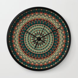 Mandala 585 Wall Clock