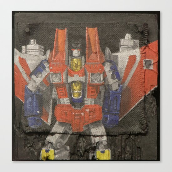 Starscream plays a Flying V Canvas Print
