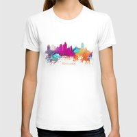minneapolis T-shirts featuring Minneapolis skyline watercolor by jbjart