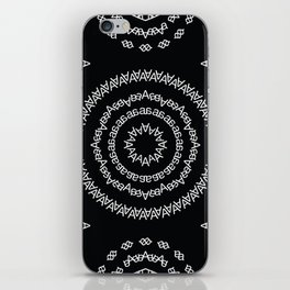 Typographic Pattern – A (Helvetica) iPhone Skin