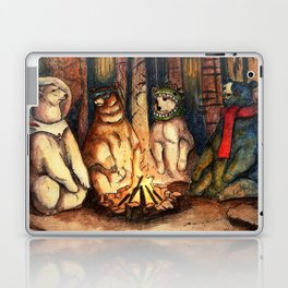 Camp Meeting By Helen Green Laptop & iPad Skin
