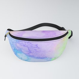 Lollipop Watercolor Texture Fanny Pack