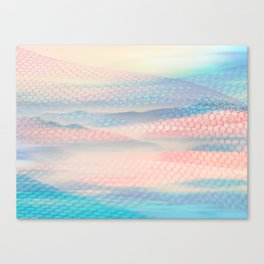 Tulle Mountains 2 Canvas Print