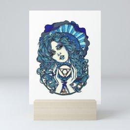 Throat Chakra Mini Art Print