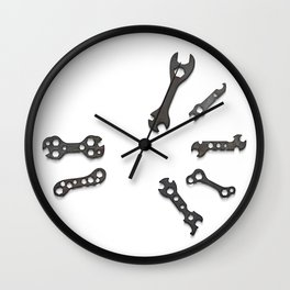 Bike First Aid Repair Kit Wall Clock