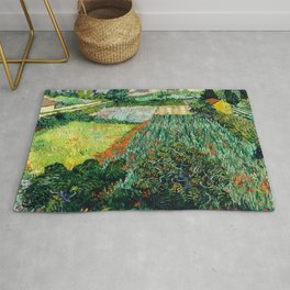 Field with Poppies (1889) by Vincent van Gogh Rug