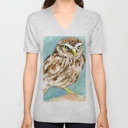 Wise Owl Unisex V-Neck