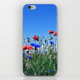 poppy flower no11 iPhone Skin