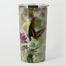 Butterfly Echoes Travel Mug