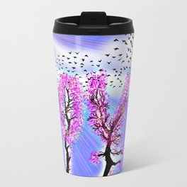 AS LOVE BLOSSOMS - 051 Metal Travel Mug