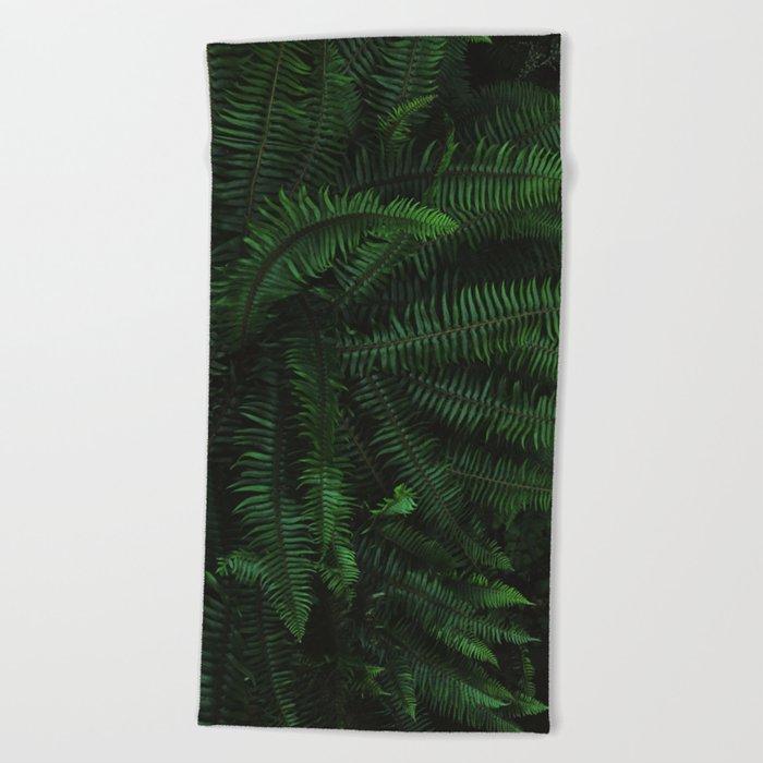 Fern Life Beach Towel