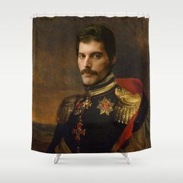 Freddy Mercury Classical Regal General Painting Shower Curtain