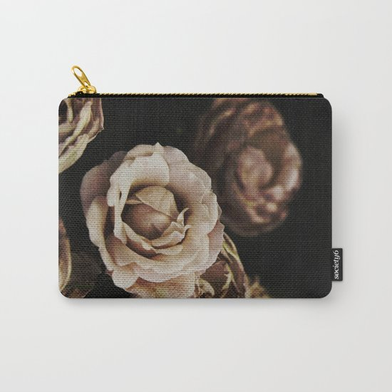 Autumn Roses Carry-All Pouch