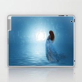 Walking in the light of freedom Laptop & iPad Skin