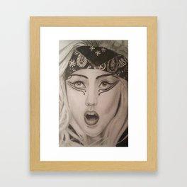 Ga Ga  Framed Art Print