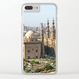 Cario Egypt Skyline Clear iPhone Case