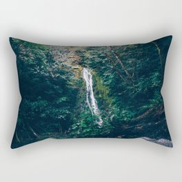 Madison Falls - Olympic National Park Rectangular Pillow