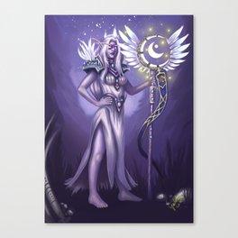 An Elven Noble Canvas Print