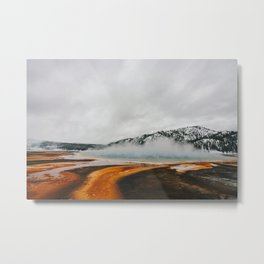 Grand Prismatic Spring, Yellowstone National Park Metal Print