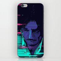 movie poster iPhone & iPod Skins featuring Oldboy - Alternative movie poster by FourteenLab