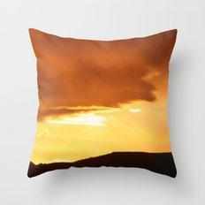 Sunrise April 12, 2012 Throw Pillow