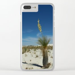 Hard Life in the Desert Clear iPhone Case