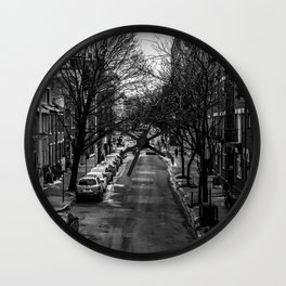 Philly Streets Wall Clock