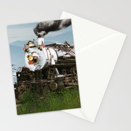 Smokey Mountain Railway Steam Locomotive Stationery Cards