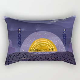 Hollywood Bowl Rectangular Pillow