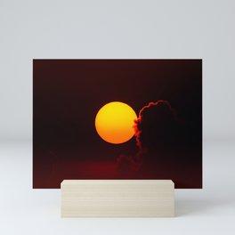 Sunset Closeup Mini Art Print