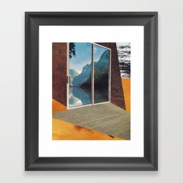 no place to hide Framed Art Print