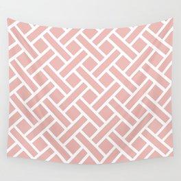 Geometric Trellis Weave Pattern 133 Wall Tapestry