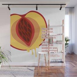 Juiciest Peach Wall Mural