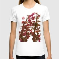 spring T-shirts featuring spring by bravo la fourmi