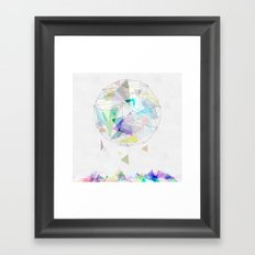 Graphic 41 VACANCY Framed Art Print