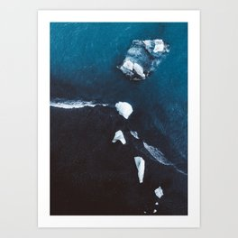 Diamond Beach - Iceland Art Print