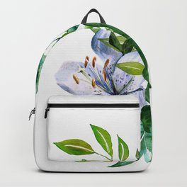 Flower and Leaves Backpack