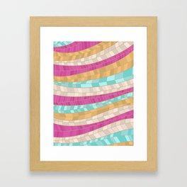 GOLDMOSAIC Framed Art Print