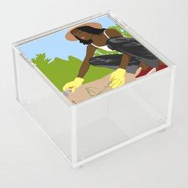 Greener Grass Acrylic Box