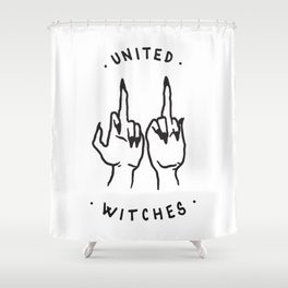 United Witches Shower Curtain