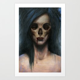Creep Art Print