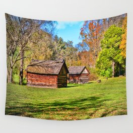 Johnson City Tennessee Cabins Wall Tapestry
