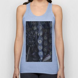 Antique Saddle Buckles Unisex Tank Top